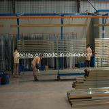 Sistema di rivestimento dello spruzzo di buona qualità di prezzi competitivi per i profili di alluminio
