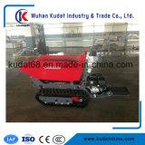 800kgs 4WDのガソリン機関(KD800S)を搭載する小型クローラーダンプ