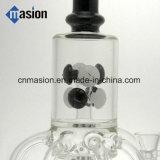 Netter Entwurfs-Recycler-rauchendes Wasser-Glasrohr (AY026)
