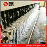 Presse automatique de filtre à plaque de chambre de membrane avec le changement de vitesse automatique de plaque pour le traitement des eaux résiduaires