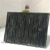 het Zwarte Spiegel Gelamineerde Glas van 10mm+Silk+5mm/het Glas van de Kunst/Zijde Afgedrukt Glas/Aangemaakt Glas voor Decoratie