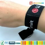 E-ticketing festival événement Ntag215 bracelet bracelet à bandoulière RFID