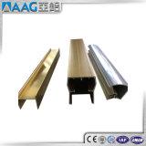 Personalizar o perfil de alumínio industrial da extrusão com anodizado