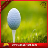 Дерновина травы кладя зеленого цвета ковра травы гольфа искусственная синтетическая