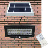 Casa de alumínio ao ar livre integrada Solar Garden LED Wall Light