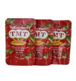 Pasta de tomate salsa de tomate con todos los tamaños