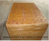 Palette en bois dure de panneau en bois pour la machine de brique