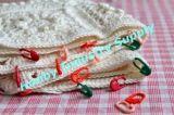 Bunte Plastiksicherungsstift-strickende Heftungs-Großhandelsmarkierung