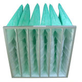 Filtri a sacco della vetroresina del collettore del condotto di depurazione d'aria