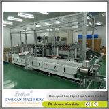 Safety Open Candy, Snacks Drum Cap Making Machine