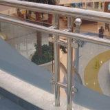 Balaustre del pasamano del acero inoxidable de la fuente de la fábrica para el pasamano de cristal de Framless