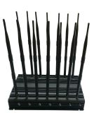 Nuovo tutti in un'emittente di disturbo piena del segnale di frequenze con 14 antenne