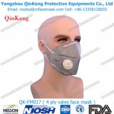 Masque de poussière Ffp3 pliable de la CE avec la protection de soupape respiratoire