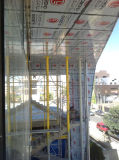 Painéis Nano de PVDF para a sala de exposições