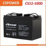Baterias 12V CS12-100d livres da manutenção da bateria 12V100ah do UPS de VRLA/SLA