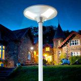 Tous dans un contrat solaire de système de lampe de jardin de la lumière DEL de détecteur de mouvement