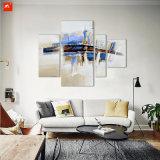 A pintura a óleo abstrata do Impressionism ajustou-se para a HOME