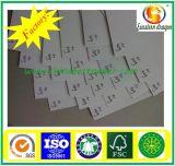 tarjeta a dos caras 250g con la tarjeta posterior/a dos caras del gris/el papel a dos caras