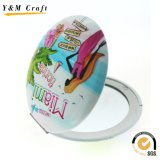 Fashion Decorative Metal Pocket Cosmetic Mirror for Lady
