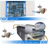 Máquina do laser da fibra do CNC da marcação de cor do metal de Jpt Mopa