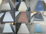 Surface solide acrylique en pierre artificielle blanche de Corian