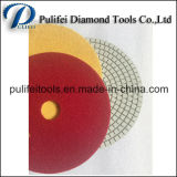 다이아몬드 구체적인 지면 폴란드어를 위한 건조한 대리석 닦는 패드
