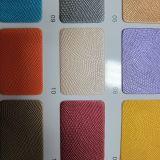 Кожа мешка PU PVC верхнего качества цветастая