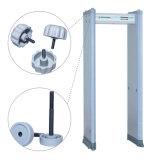 6/18 Zonen Klipp-Check-beweglicher Metalldetektor mit Kennwortschutz