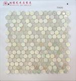 Elipse de vidro do mosaico do derretimento quente