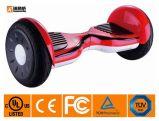 Scooter d'équilibre d'individu avec 10 pouces de roues