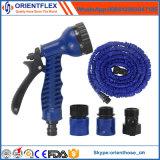 Boyau extensible flexible/boyau de jardin extensible avec le pistolet de pulvérisation