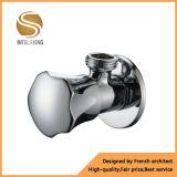 Polished угловой вентиль покрынный кромом латунный с фильтром латуни/нержавеющей стали