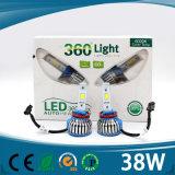 Faro innovatore del prodotto 36W 3600lm LED dei nuovi prodotti 2016 del LED H4 12V per l'automobile ed il motociclo con la PANNOCCHIA LED H4