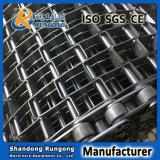 Banda transportadora de herradura de la conexión de cadena del acero inoxidable del precio bajo para el tratamiento térmico