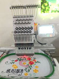 Одиночная головная коммерчески компьютеризированная машина вышивки с экраном касания