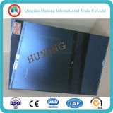 vidrio de flotador reflexivo azul unidireccional de 5.5m m