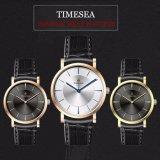 Aço inoxidável impermeável Wristband Moda Quartz Watch Mens Wrist Watch72527
