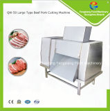 Cortadora de la carne del acero inoxidable Qw-50, carne de vaca/interruptor del cerdo