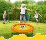 Trampoline dos miúdos com rede protetora