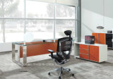 Moderner Entwurfs-Luxuxbüro-Tisch-Executivschreibtisch-hölzerne Möbel (HF-SIA01)