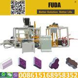 Qt4-18 PLC Control Machine de fabrication de briques à pression hydraulique automatique au Sénégal