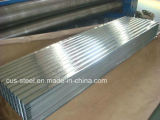 Plaque en acier ondulée d'Aluzinc/feuille en aluminium de toiture de zinc