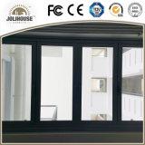 Fenêtre coulissante en aluminium certifiée Ce Certificate