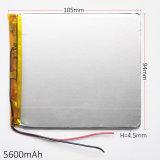 батарея Li-Po полимера лития 3.7V 5600mAh 4594105 перезаряжаемые для пусковой площадки компьтер-книжки PC таблетки крена силы GPS PSP DVD E-книги пусковой площадки DIY