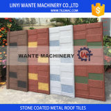 Il tetto d'acciaio dello zinco di alluminio rivestito variopinto della pietra copre le mattonelle