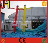 Danseur gonflable personnalisé de ciel, danseur gonflable d'air avec la flèche à vendre
