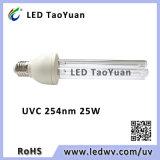 消毒および殺菌のための紫外線殺菌ランプ254nm 25W