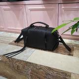 実質の革女性のハンドバッグのフリンジの装飾Emg5091が付いている柔らかい戦闘状況表示板のショルダー・バッグ