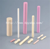 Het Verzetten zich tegen Ceramische Buizen op hoge temperatuur, de Textiel Ceramische Gidsen van de Buis