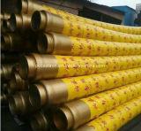Manguera de bombeo resistente del concreto reforzado de la tela de las ventas de la abrasión caliente de la buena calidad